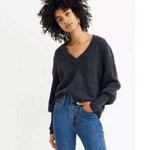 Madewell Dashwood Pullover Sweater NWT Chimney L